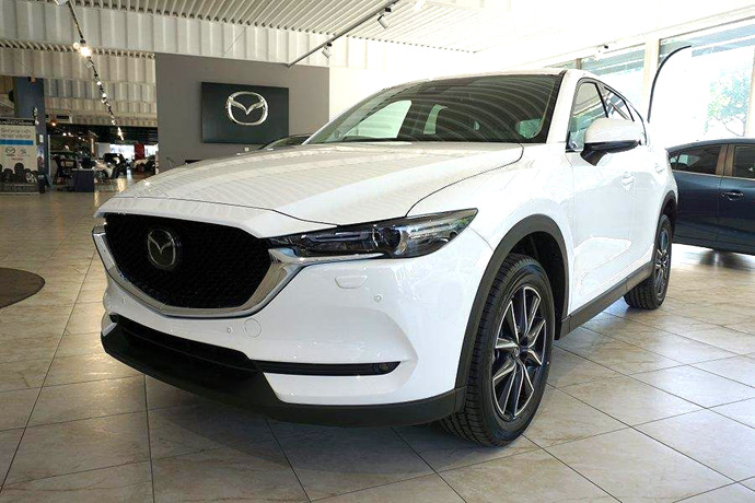 Mazda CX-5 SUV - finns som privatleasing