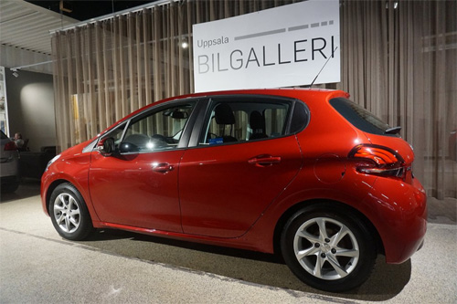 Peugeot 208 kampanj begagnad