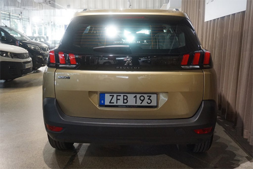 Peugeot 5008 SUV begagnad kampanj