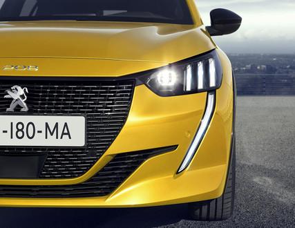 Nya Peugeot 208 - finns både som bensin och elbil