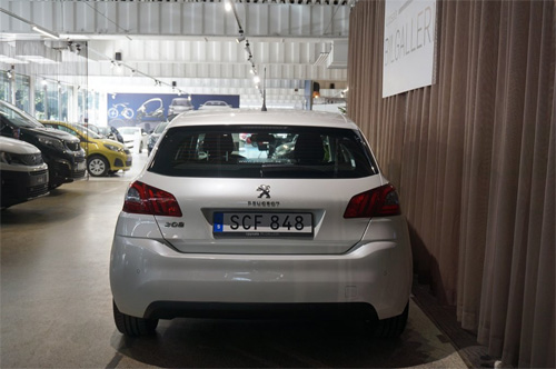 Peugeot 308 kampanj begagnad
