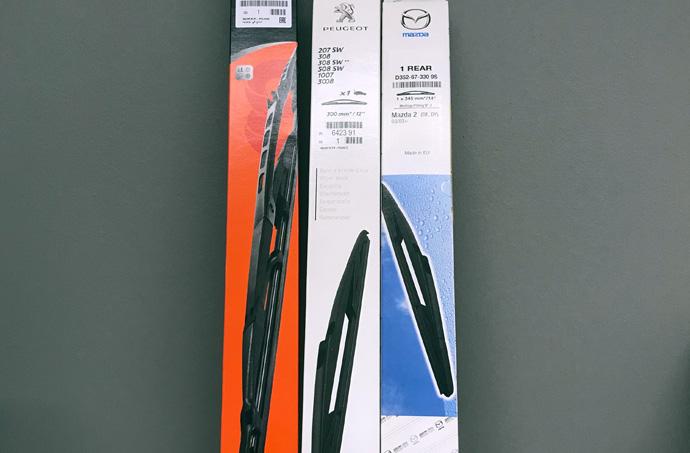 Torkarblad från Mazda Peugeot Eurorepar