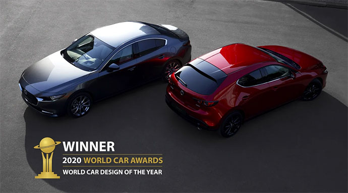 Mazda3 - vinnare i World Car Awards