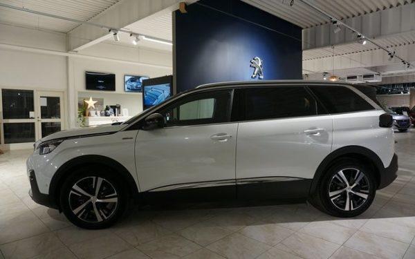 Peugeot 5008 SUV privatleasing kampanj