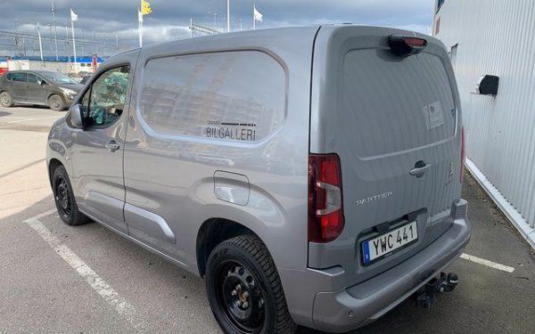 Peugeot Partner leasing kampanj