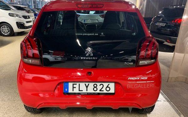 Peugeot 108 privatleasing 6 månader