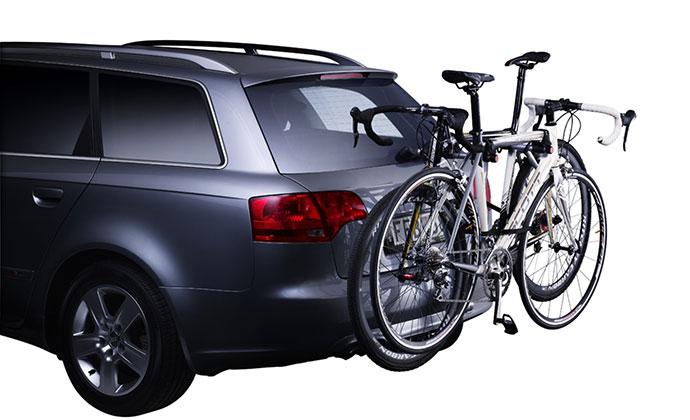 cykelställ för bil med dragkrok
