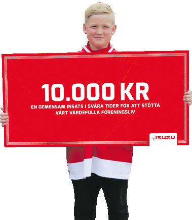 10000 kr till valfri idrottsförening
