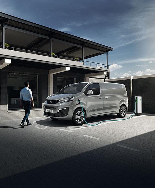 Peugeot e-expert – 100% eldriven transportbil